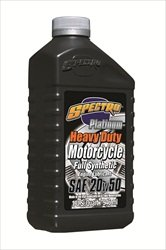 2. Spectro Heavy Duty Platinum Full Synthetic 20w50 Case of 12x1qt