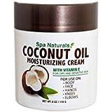 Spa Naturals Coconut Oil Moisturizing Cream -6oz