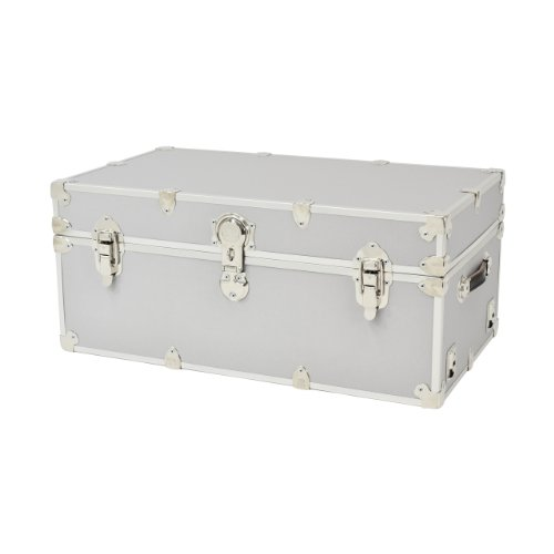 (Rhino Trunk and Case Armor Trunk, Large, Silver)