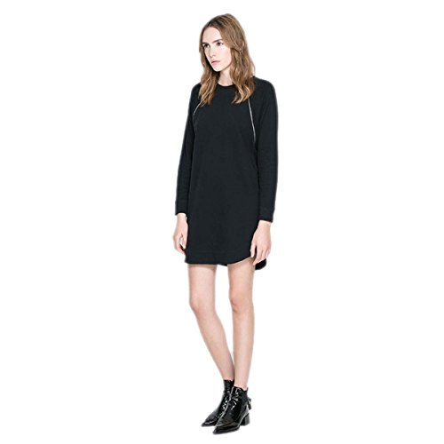 fine knit jumper dress - 1