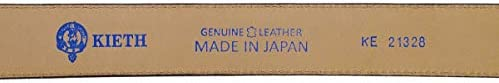 メンズ ベルト 牛革スウェード ダブルループ キャメル サイズ調整可能 50有余年の歴史とクラフトマンシップ MADE IN JAPAN
