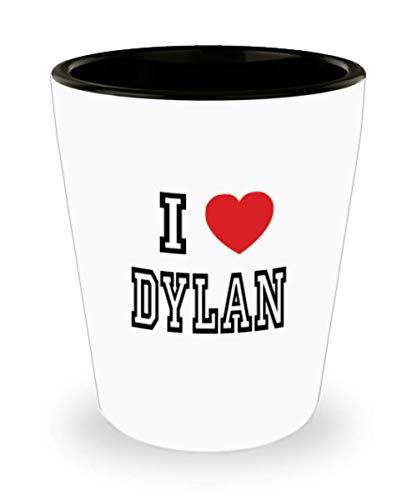 White Ceramic Shot Glass I Love Dylan Mug Lover Gift Coffee Funny Idea Tea Cup Cute Ceramic Present Gag,al2948]()