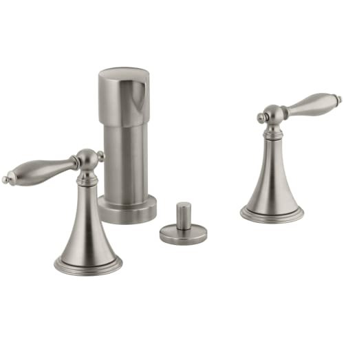 Kohler Finial Traditional Bidet Faucet With Lever Handles