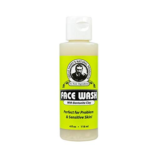 Face Wash 4floz Cleanser by Uncle Harry's Natural Products ()