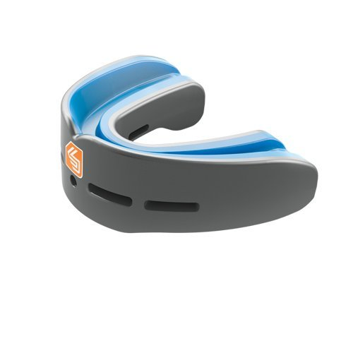Shock Doctor Nano Double Mouth Guard, CARBON, Adult