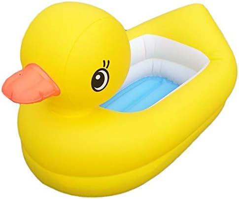 黄色いアヒルの膨脹可能なプール、浴槽のプールの家族のプール、膨脹可能な子供のプール、子供のための家族の漕ぐプール、赤ちゃん、幼児、屋外、庭、裏庭