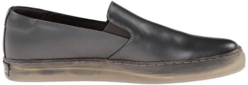 Kenneth Cole New York Mens Double Ou Rien Sneaker Slip-on Gris Métallique