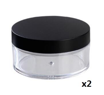 Topwon Portable Loose Powder Container/Travel Powder Kit/Powder Case (D)
