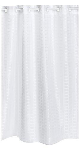 curtain cotton curtains walmart grey fabric shower yellow hookless