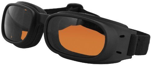Bobster bpis01a sunglasses piston w/amber lens (BPIS01A)