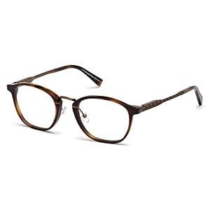 Ermenegildo Zegna EZ5101 Eyeglass Frames - Dark Havana Frame, 50 mm Lens Diameter EZ510150052