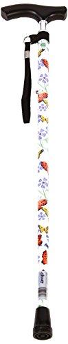 [보행보조재활지팡이]정품 Drive Medical 지팡이 행복 스프링 방식 고무 세트 슬림 넥 타입 11 단계 높이 조절 SG 마크를 획득 한 382004