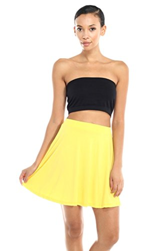 2LUV Women's Flouncy Flared Fashionable Mini Skirt for sale