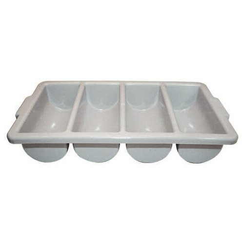 Winco PL-4B 4-Compartment Cutlery Bin, Set of 6 by Winco (Image #1)