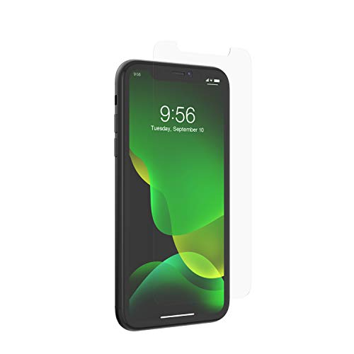 ZAGG InvisibleShield Glass+ Screen Protector - high-Definition Tempered Glass Made for Apple iPhone 11 - Impact & Scratch Protection