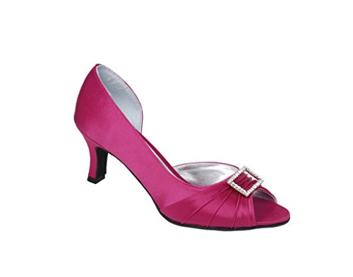 LEXUS - Zapatos de vestir para mujer Dark Pink