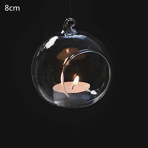 Candle Holders - Iron Art Home Decoration Table Ball Lantern Candle Hanging Stand Holder Retro Glass Wedding - Fireplace Hang Bath Pillar Pink Quartz Wedding Oriental Silver Mercury Tall Pa
