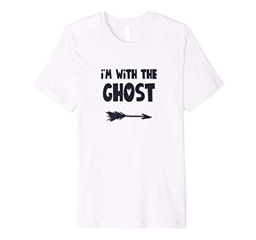 I'm with the Ghost - Funny Halloween Shirt