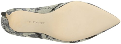 Pour La Victoire Women's Daria Mule Steel clearance best new styles cheap price outlet original latest collections cheap price Z9F2y