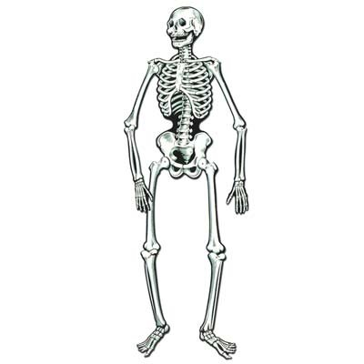 Jointed Skeleton Party Accessory (1 count)