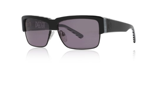 Dragon Decca Sunglasses, Black White, - White Dragon Sunglasses