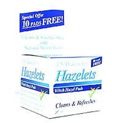 T.N. Dickinson: Witch Hazel Cleansing ct, 60 ct (5 -