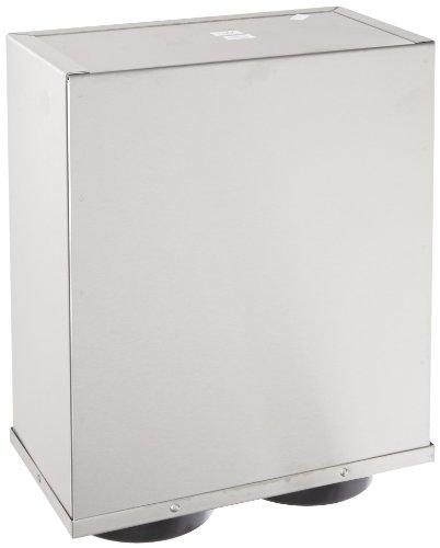 San Jamar C9002 EZ-Fit Box System, 2 Portion Cup Dispensers, SS C9002
