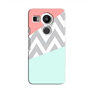 Cover It Up - Jagged Pastel Nexus 5XHard Case