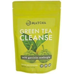 Green Tea Cleanse with Garcinia - Green Go Tea Brands