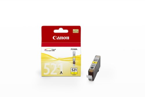 Canon Ink Yellow Pages 446, 2936B008 CLI-521Y (Pages 446)