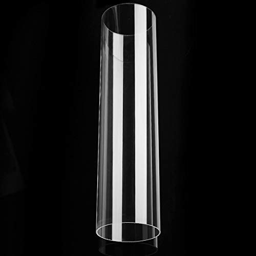 DalaB Top Quality Clear Acryclic Lucite Tube Pipe Round 2.9'' OD 2 3/4 ID Diameter 11.8'' Long DIY Craft Supplies ()