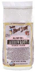 Bob's Red Mill Arrowroot Starch Flour, 16 oz 2 Pack