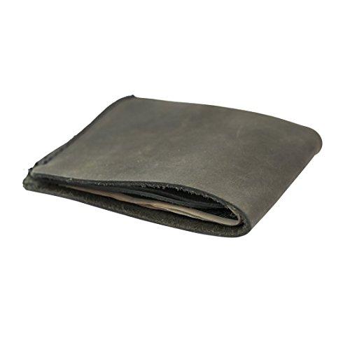 Leather Slimfold Wallet Credit Card Holder Handmade by Hide  Drink :: Smoke