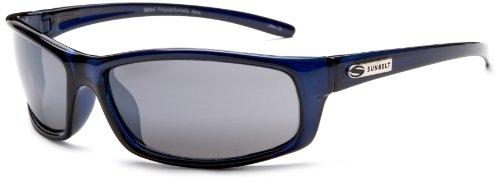 Sunbelt Rush 112 Resin Sunglasses,Royal Blue Frame/Grey Lens,one size