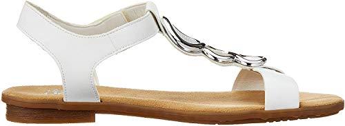 Rieker Damen 64265-80 Geschlossene Sandalen