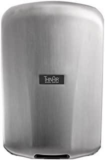 product image for Excel Dryer TA-SBV Automatic, Surface-Mounted, ADA-Compliant Conventional Hand Dryer, Brushed Stainless Steel Cover, 208-277V 50/60 Hz