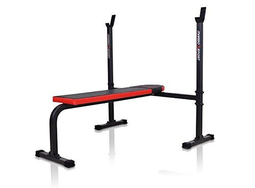 MARBO Sport Banco plano con pesas - Banco MH de L106: Amazon.es: Deportes y aire libre