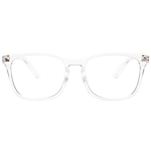 Livho Blue Light Blocking Glasses, Computer Reading/Gaming/TV/Phones Glasses for Women Men,Anti Eyestrain & UV Glare…