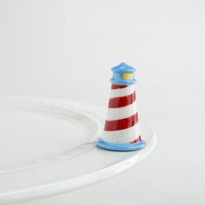 Nora Fleming Lighthouse Mini - Nora Fleming Guiding Light Mini A163