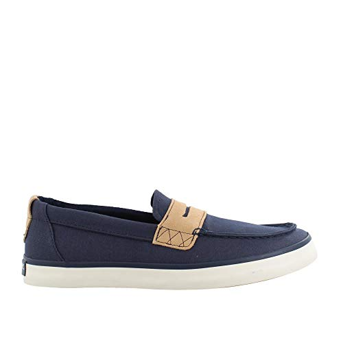 Sperry Blue Pennies (Sperry Men's, Mainsail Penny Slip On Navy 11 M)