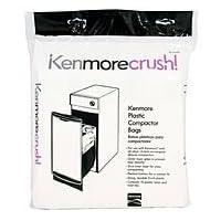 Kenmore 13370 Bolsa de compactador de basura, paquete de 10 piezas originales del fabricante de equipos originales (OEM)