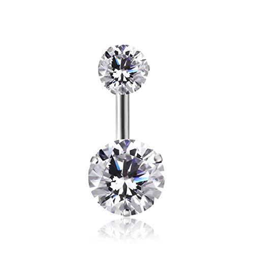 Sassy Bee Swarovski Crystal Belly Button Ring Navel Body ()