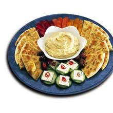 Grecian Delight Traditional Hummus, 0.5 Gallon - 4 per case. by Grecian Delight