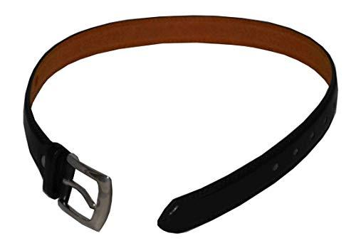 [해외]CCB 남아용 가죽 벨트 블랙 / CCB Boys Belt Black (Xlarge(42-44))