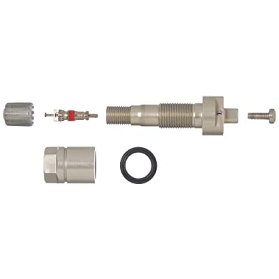 Schrader 34000 Aluminum Clamp-in Style Valve for TPMS Snap-in Sensor: Automotive