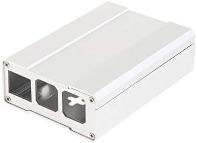 Raspberry Pi 3B+ 3B 2B用 保護ケース ハウジング シェル アルミ合金 - シルバー