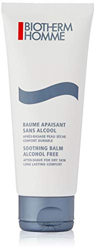 (Biotherm Homme Soothing Balm Alcohol Free After Shave Balm for Men, Dry Skin, 3.38 Ounce)