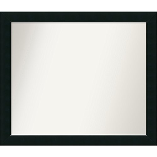 Amanti Art Outer 41 x 35 Wall Mirror, Choose Your Custom Size -