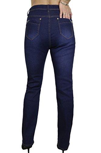 1529 Jeans di Denim dei Blu Extensible Lavato Destra ICE Blu IfARdqA