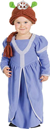 Shrek Infant Toddler Costumes - Princess Fiona Baby Shrek Costume Childs